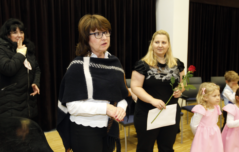 Paní starostka MČ zahájila výstavu.