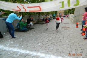 Běh napříč Petrovicemi - 25.5.2016