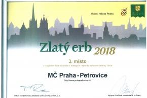 Zlatý Erb 2018 - 3. místo