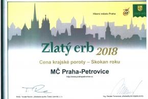 Zlatý Erb 2018 - Skokan roku