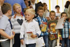Vítání prvňáčků v ZŠ Praha - Petrovice