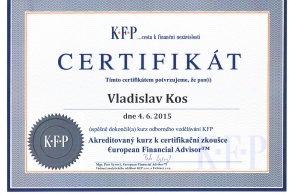Vladislav Kos - finanční konzultant