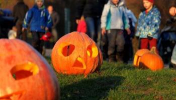 Halloween v Botanické zahradě v Troji