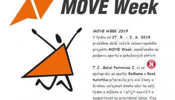 Týdenní festival sportu a pohybových aktivit v Petrovicích MOVE WEEK 2019