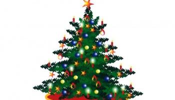 Tradniční setkání Zpívání pod vánočním stromem