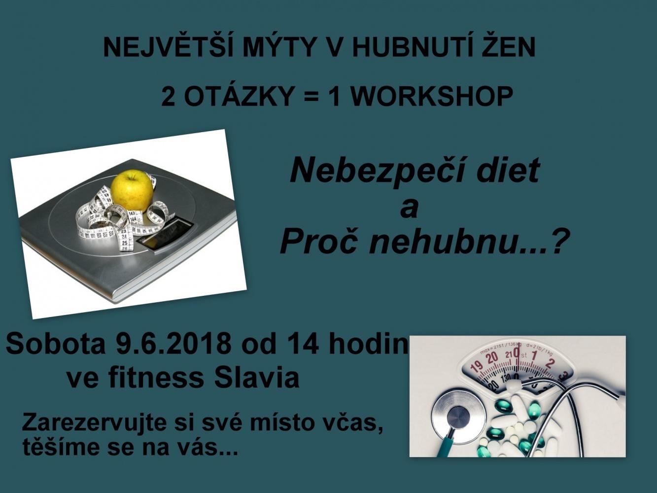 Workshop - největší mýty v hubnutí žen