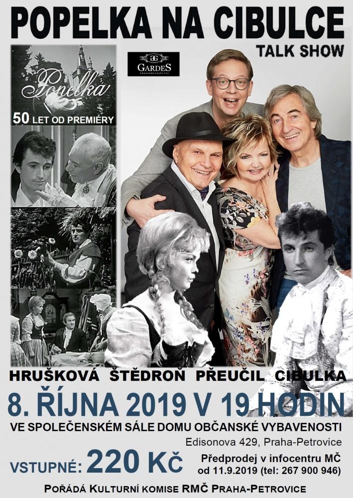 Popelka na Cibulce - talk show